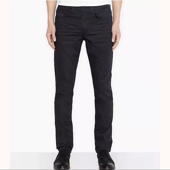 10f0a16294 LEVI S Mens 511 Slim Fit Line 8 Jeans Black Indigo